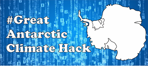Great Antarctic Climate Hack logo