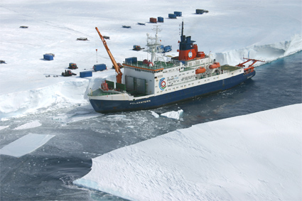 The RV Polarstern icebreaker
