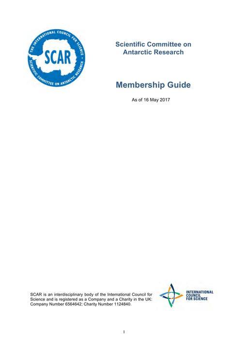 Membership Guide 2017