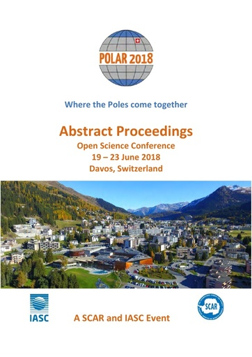 POLAR 2018 Open Science Conference - Abstract Proceedings