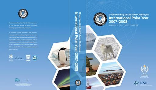 ATT075 to IP055: Understanding Earth's Polar Challenges: International Polar Year 2007-2009. Report Cover (Attachment)