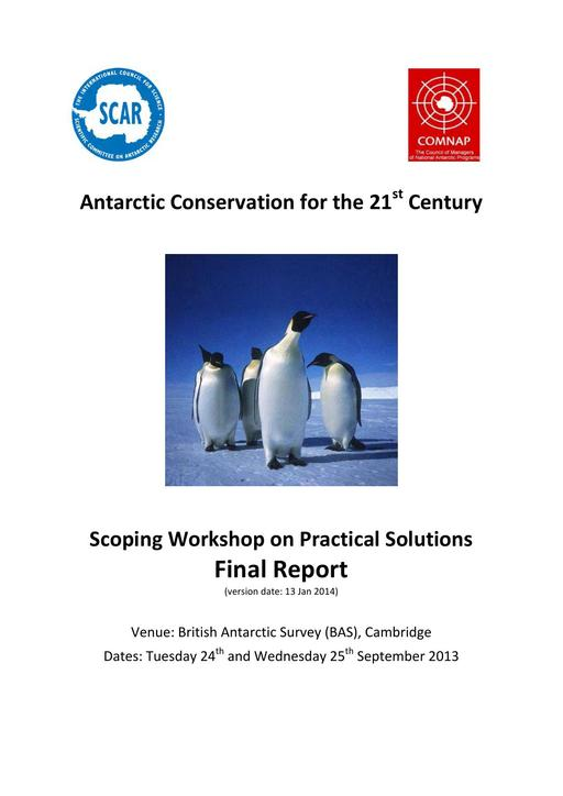 Attachment to IP011: Scoping Workshop on Practical Solutions Final Report