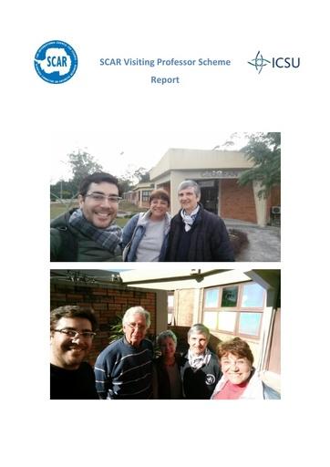 Catherine Goyet - 2018 Visiting Prof. Report