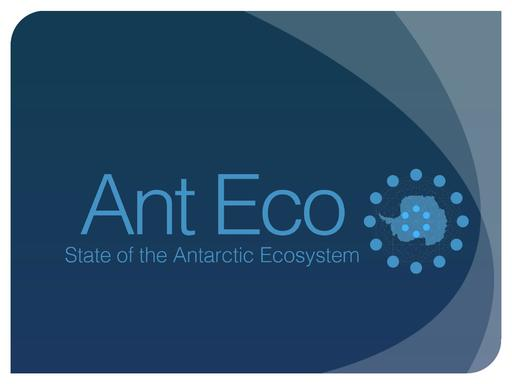 Agenda Item 4.2.3: State of the Antarctic Ecosystem (AntEco), with External Review