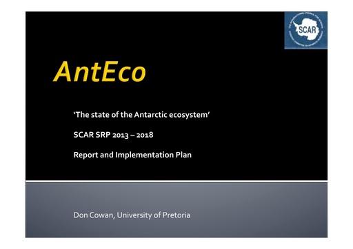 EXCOM 2013 AntEco ppt