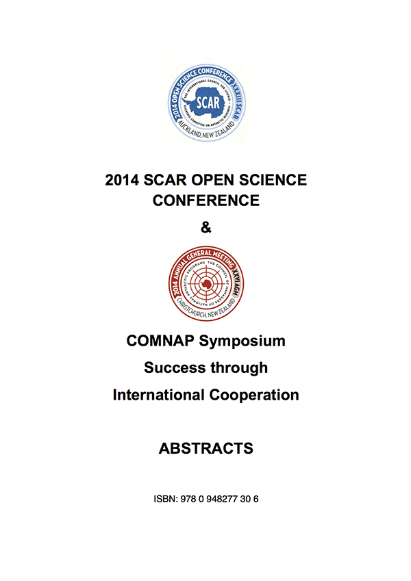 SCAR Open Science Conference 2014 - Abstracts